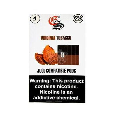 Картриджи Eonsmoke (для JUUL) Virginia Tobacco (60мг)