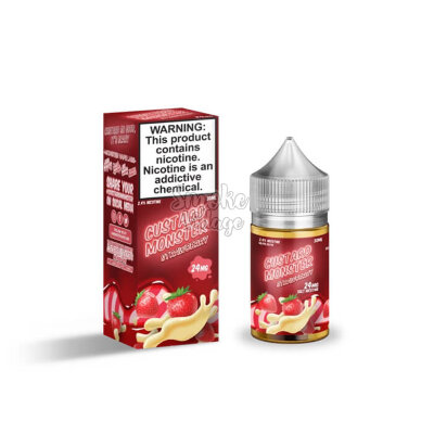 Custard Monster Salt Nic - Strawberry 30мл