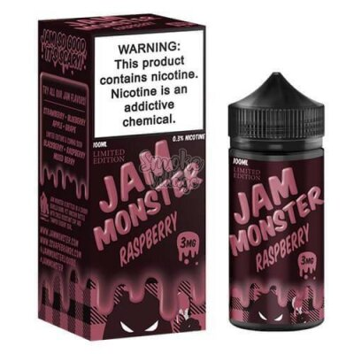 Jam Monster Raspberry 100 мл (3мг)
