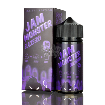 Jam Monster Blackberry salt 30мл (48мг)