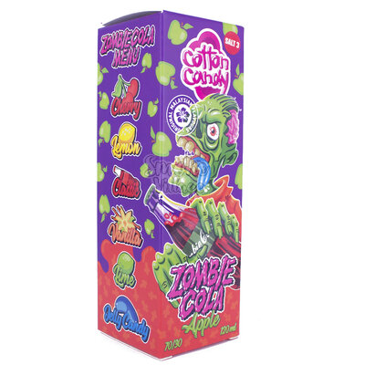 Cotton Candy - Zombie Cola Apple 3mg (120ml)