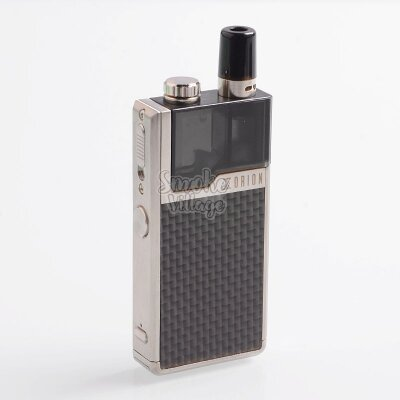 LostVape Orion DNA GO silver textured carbon