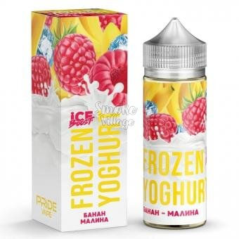 Frozen Yoghurt (Ice Boost) - Банан - Малина 120ml (0mg)