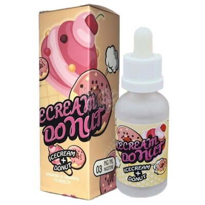 Жидкость Unit Vape Icecream Donut 60мл (3мг)