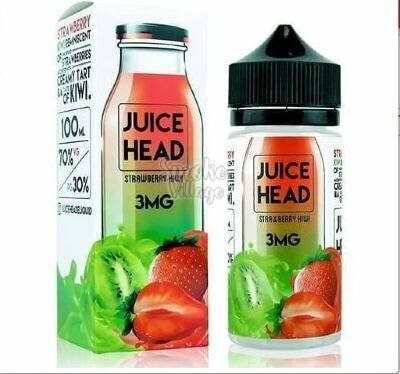 Жидкость Juice Head Strawberry Kiwi 100ml (3mg)