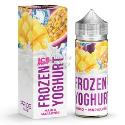 Frozen Yoghurt (Ice Boost) - Манго - Маракуйя 120ml (0mg)