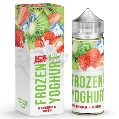 Frozen Yoghurt (Ice Boost) - Клубника - Киви 120ml (0mg)
