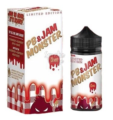 PB & Jam Strawberry Monster Salt 30мл (24мг)