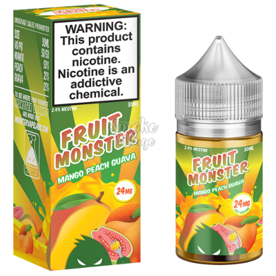 Купить жидкость Fruit Monster SALT - Mango Peach Guava 30 ml