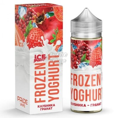 Frozen Yoghurt (Ice Boost) - Клубника - Гранат 120ml (0mg)