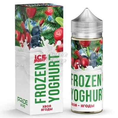 Frozen Yoghurt (Ice Boost) - Хвоя - Ягоды 120ml (0mg)