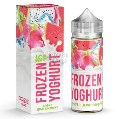 Frozen Yoghurt (Ice Boost) - Арбуз - Драгонфрут 120ml (0mg)