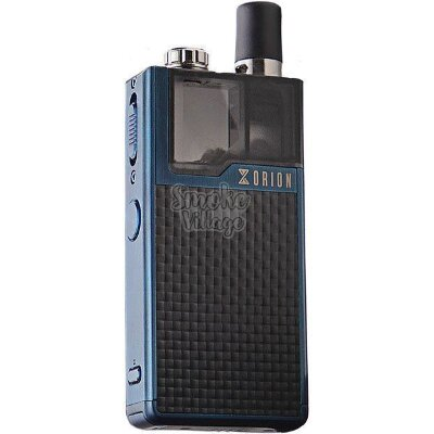 LostVape Orion DNA GO blue textured carbon