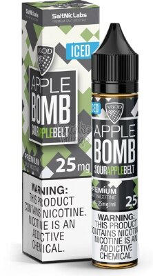 VGOD Salt - Iced Apple Bomb 30мл (25/50мг)