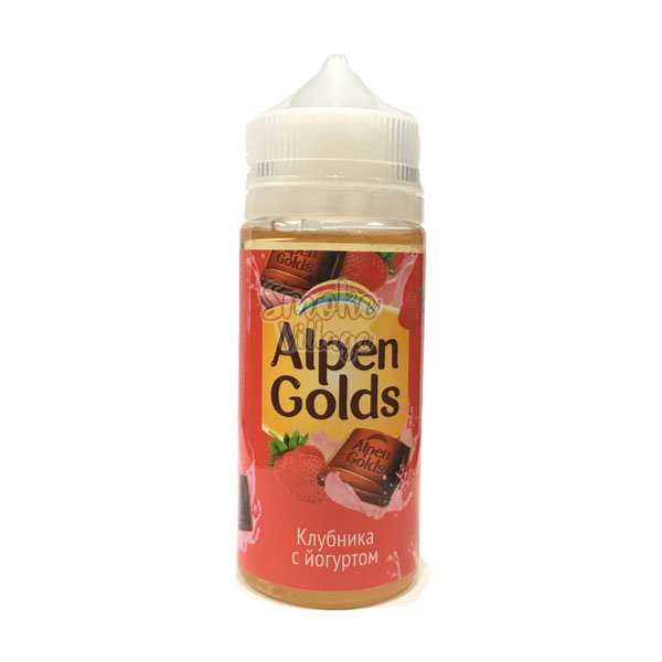 Жидкость Alpen Golds Клубника с Йогуртом 100мл (3мг)