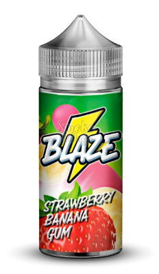 BLAZE ON ICE Strawberry Banana Gum 100мл (3мг)