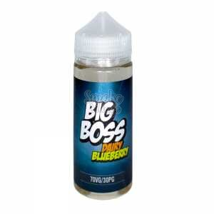 Жидкость Big Boss Dairy Blueberry 120мл (3мг)