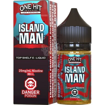 One Hit Wonder Salt - Island Man 30ml (25мг)