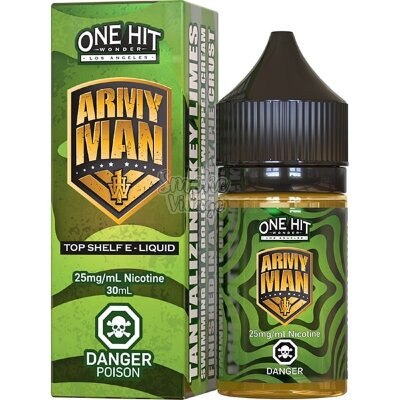 One Hit Wonder Salt - Army Man 30ml (25мг)