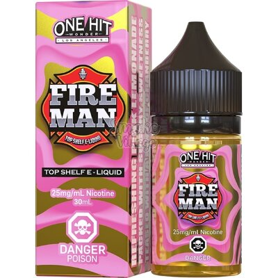 One Hit Wonder Salt - Fire Man 30ml (25мг)