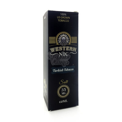 Жидкость Western NIC Turkisb Tobacco Salt 60мл (35мг) (Clone)