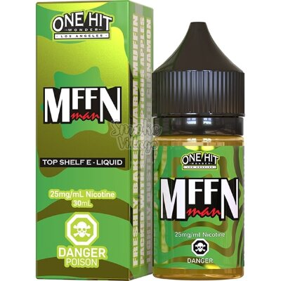 One Hit Wonder Salt - The Muffin Man 30ml (25мг)