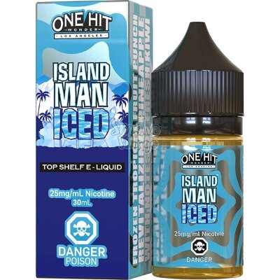 One Hit Wonder Salt - Island Man Iced 30ml (25мг)