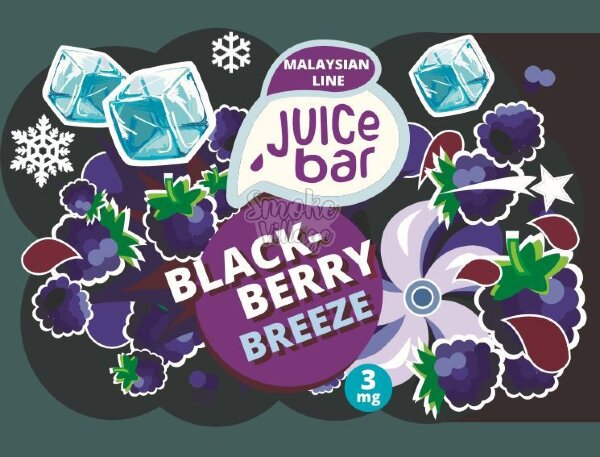 Жидкость Juice Bar Blackberry Breeze 120мл (3мг)