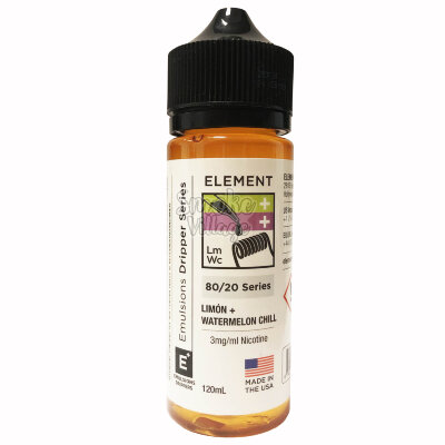 Element: Lemon + Watermelon Chill 120ml (3mg)