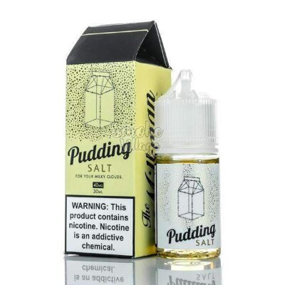 The Milkman Salt - Pudding 30ml (40mg)