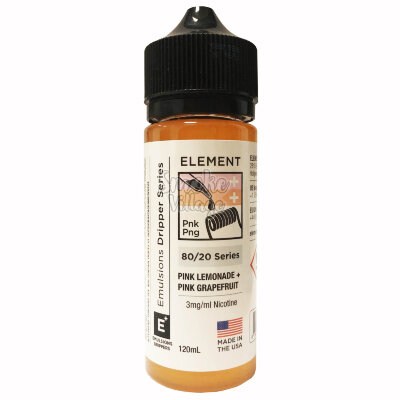 Element: Pink Grapefruit + Pink Lemonade 120ml (3mg)
