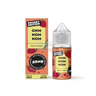 Ohm Nom Nom Salt - Mom's Gummies 30мл (25мг)