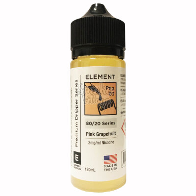 Element: Pink Grapefruit 120ml (3mg)
