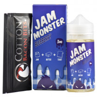Жидкость Jam Monster Blueberry 100мл (3мг)