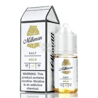 The Milkman Salt - Gold 30ml (40mg)