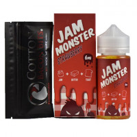 Жидкость Jam Monster Strawberry 100мл (3мг)
