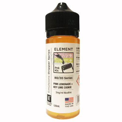 Element: Pink Lemonade + Key Lime Cookie 120ml (3mg)