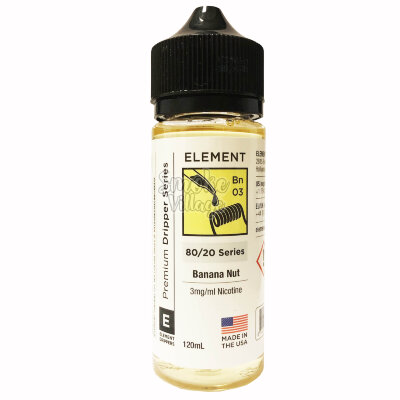 Element: Banana Nut 120ml (3mg)