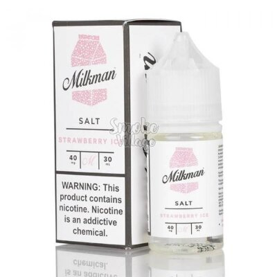 The Milkman Salt - Strawberry Ice 30ml (40mg)