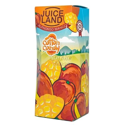 Cotton Candy Juiceland - Alphonoso Mango 100ml (0mg+3mg никобустер)