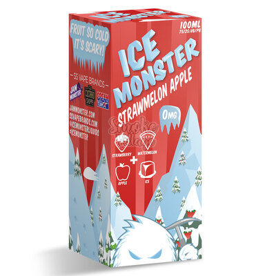 Ice Monster Strawmelon Apple 100мл (3мг)