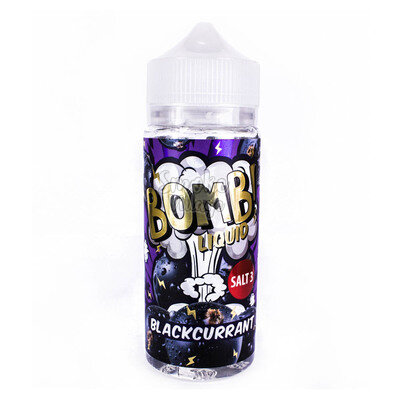 Cotton Candy Bomb! Blackcurrant 120мл (3мг)