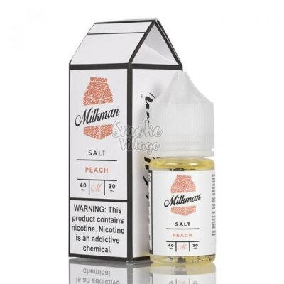 The Milkman Salt - Peach 30ml (40mg)