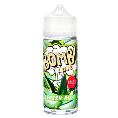 Cotton Candy Bomb! Fresh Aloe 120мл (3мг)