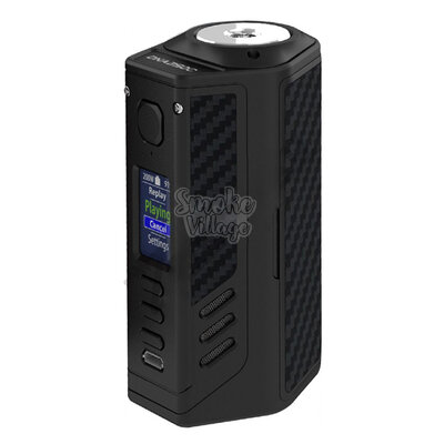 Боксмод Lost Vape Triade DNA 250C (Черный, Черный кевлар)