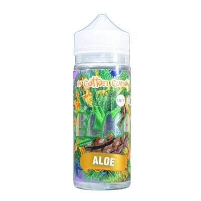 Cotton Candy Elka Aloe 120мл (3мг)