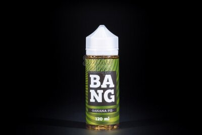 Жидкость BANG Banana Pie 120мл (3мг)