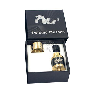 Атомайзер Twisted Messes v3 RDA (Черный)