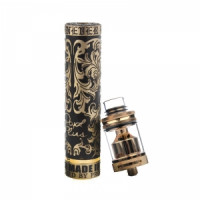 Механический мод Royal Plus Chrome Hearts + Petri RTA clone