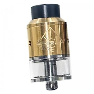 Бакодрипка 528 Custom Vapes Goon RDTA 24 (Золотой) Clone